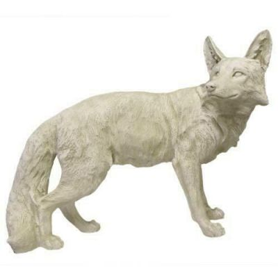 Steady Fox Fiberglass Indoor/Outdoor Garden Statue/Sculpture -  - F8619