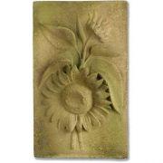 Sunflower Plaque Fiber Stone Resin Indoor/Outdoor