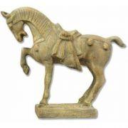 Tang Horse 10in. - Fiberglass Resin - Indoor/Outdoor Statue/Sculpture