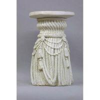 Tassel Riser Stand Pedestal Statue Base 18in. Fiberglass Statue