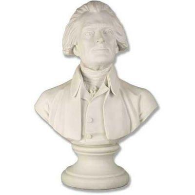 Thomas Jefferson Bust - 20in. Fiberglass Indoor/Outdoor Statue -  - F7428