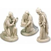 Three Kings Fiberglass Indoor/Outdoor Garden Statue/Sculpture