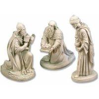 Three Kings Fiberglass Indoor/Outdoor Garden Statue/Sculpture