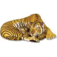 Tiger / Cub - Full Color Fiberglass Resin Indoor/Outdoor Garden Statue