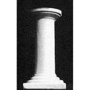Tiny Flutless Column - Fiberglass - Indoor/Outdoor Garden Statue