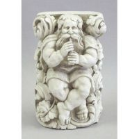 Titan Playing Flute 15in. - Fiberglass - Indoor/Outdoor Statue