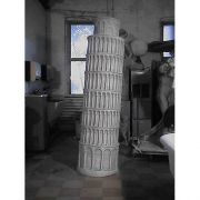 Tower Of Pisa 81 In. Fiberglass Indoor/Outdoor Statue/Sculpture