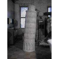 Tower Of Pisa 81 In. Fiberglass Indoor/Outdoor Statue/Sculpture