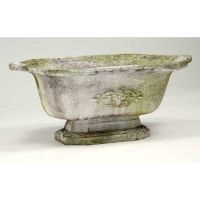 Traditional Planter 10in. - Fiber Stone Resin - Indoor/Outdoor Statue