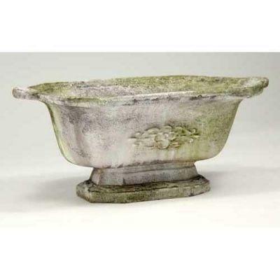 Traditional Planter 10in. - Fiber Stone Resin - Indoor/Outdoor Statue -  - FS2042
