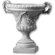 Traditional Urn Fiberglass Indoor/Outdoor Statue/Sculpture