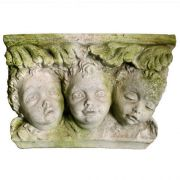 Tre Facce Bracket - Fiber Stone Resin - Indoor/Outdoor Garden Statue
