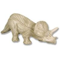 Triceratops Fiberglass Indoor/Outdoor Garden Statue/Sculpture