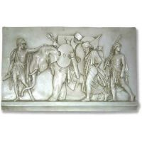 Triumphal Entry Into Babylon - Fiberglass Resin - Outdoor Statue