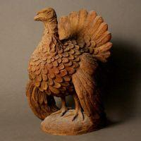 Turkey - Fiber Stone Resin - Indoor/Outdoor Garden Statue/Sculpture