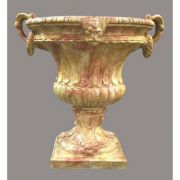 Tuscan Urn 36in. - Fiberglass - Indoor/Outdoor Statue/Sculpture