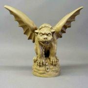 Tuscany Gargoyle 18in. High - Fiberglass - Indoor/Outdoor Statue