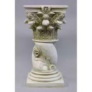 Twisted Rose Riser Stand Pedestal Statue Base 29in. Fiberglass Resin