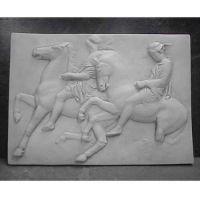 Two Horsemen, One w/Hat - Fiberglass Resin - Indoor/Outdoor Statue