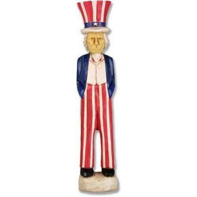 Uncle Sam Fiberglass Indoor/Outdoor Garden Statue/Sculpture -  - F7038