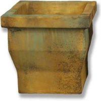 Urban Pot 2# Medium 16.5in. Fiber Stone Resin Indoor/Outdoor Statue