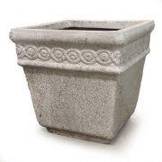 Venton Pot 14in. High - Fiber Stone Resin - Indoor/Outdoor Statue