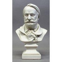 Victor Hugo 12in. - Fiberglass Resin - Indoor/Outdoor Garden Statue