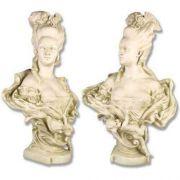 Victorian Mother Bust 32in. - Fiberglass - Indoor/Outdoor Statue