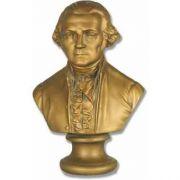 Washington Bust 12in. - Fiberglass - Indoor/Outdoor Statue