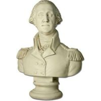 Washington Bust Oversized 35in. Fiberglass In/Outdoor Statue