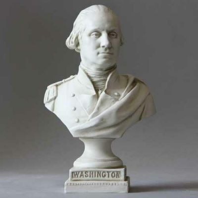 Washington From Capital Fiberglass Indoor/Outdoor Garden Statue -  - F8502
