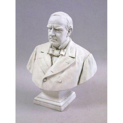 William Mckinley 29in. Fiberglass Indoor/Outdoor Garden Statue -  - F1065