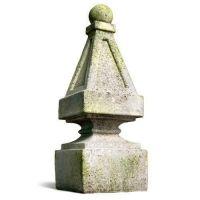 Wilson Finial - Fiber Stone Resin - Indoor/Outdoor Statue/Sculpture
