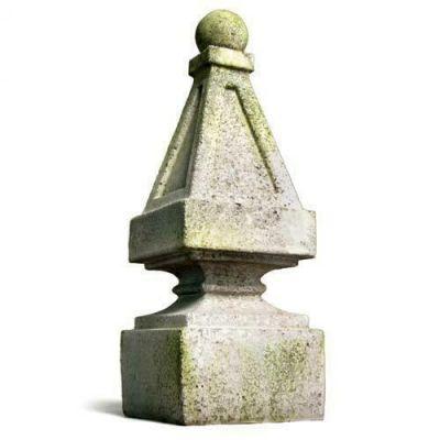 Wilson Finial - Fiber Stone Resin - Indoor/Outdoor Statue/Sculpture -  - FS8589