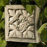 Windsor Tile 10in. - Fiber Stone Resin - Indoor/Outdoor Garden Statue