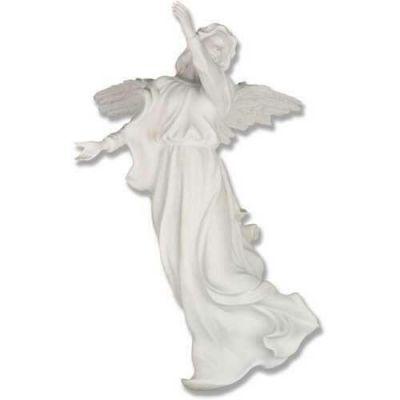 Winged Hanging Angel 17 In. Fiberglass Indoor/Outdoor Statue -  - F7645