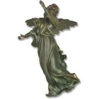Winged Hanging Angel 17 Inch Fiberglass Indoor/Outdoor Statue