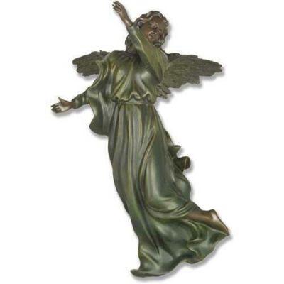 Winged Hanging Angel 17 Inch Fiberglass Indoor/Outdoor Statue -  - F7645A