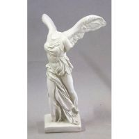 Winged Victory 40in. Nike Fiberglass Indoor/Outdoor Statue