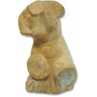Woman Torso 9 Inch Fiber Stone Resin Indoor/Outdoor Statue/Sculpture