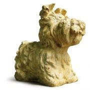 Yorkie Dog - Fiber Stone Resin - Indoor/Outdoor Statue/Sculpture