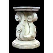 Zeldwick Riser Stand Pedestal Statue Base 31in. - Fiberglass - Statue