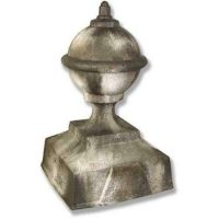 Zinc Finial 30 Inch Fiber Stone Resin Indoor/Outdoor Statue/Sculpture
