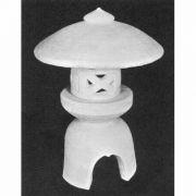 """Yukimi Japanese Lantern 21"""" - Fiberglass Indoor/Outdoor Garden Statue"""