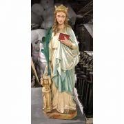 St. Barbara - Fiberglass Indoor/Outdoor Garden Statue