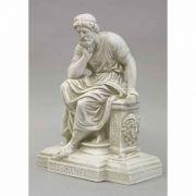 Socrates Seated - Fiberglass Indoor/Outdoor Garden Statue
