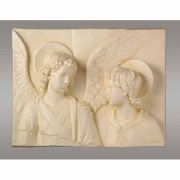 Tobias & The Angel - Fiberglass Indoor/Outdoor Garden Statue