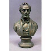 Abe Lincoln Bust 18 in. Fiberglass Indoor/Outdoor Garden