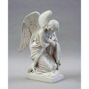 Adoration Angel-Arms Crossed Fiberglass Indoor/Outdoor Garden