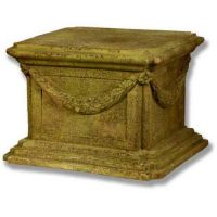 Alessa B Pedestal 16in. Fiberglass Indoor/Outdoor Garden